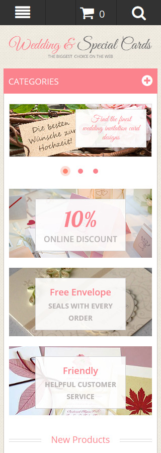Wedding Most Popular website inspirations at your coffee break? Browse for more Magento #templates! // Regular price: $179 // Sources available: .PSD, .XML, .PHTML, .CSS #Wedding #Most Popular #Magento