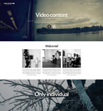 Responsive JavaScript Animated Template #52335