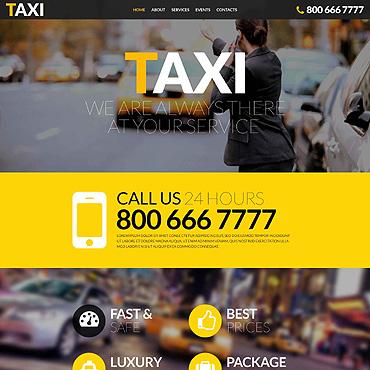 Website Template # 52390
