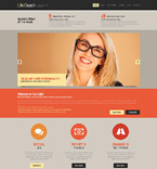 Responsive JavaScript Animated Template #52393