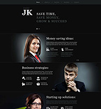 Responsive JavaScript Animated Template #52397