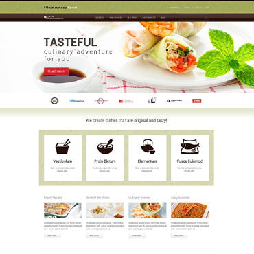 WordPress Theme # 52438
