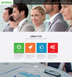 Responsive JavaScript Animated Template #52501