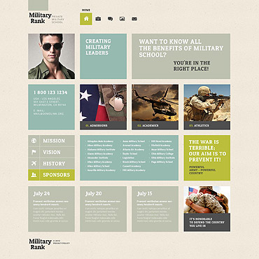 WordPress Theme # 52506