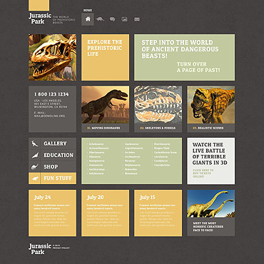 WordPress Theme # 52507