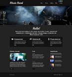 Responsive JavaScript Animated Template #52511