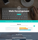 Responsive JavaScript Animated Template #52537
