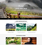 Responsive JavaScript Animated Template #52546