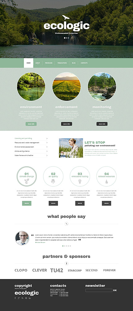 Most Popular Alternative Power website inspirations at your coffee break? Browse for more Drupal #templates! // Regular price: $75 // Sources available: .PSD, .PHP #Most Popular #Alternative Power #Drupal
