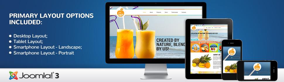 Juice - Template Joomla