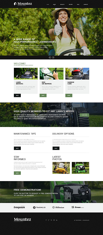 Exterior Design Most Popular website inspirations at your coffee break? Browse for more Joomla #templates! // Regular price: $75 // Sources available: .PSD, .PHP #Exterior Design #Most Popular #Joomla