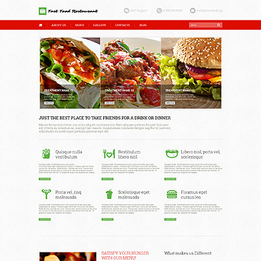 WordPress Theme # 52640