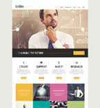 Responsive JavaScript Animated Template #52655