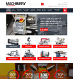 Tools & Equipment Magento Template