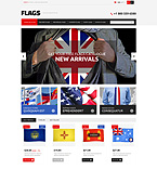 Flags PrestaShop Template