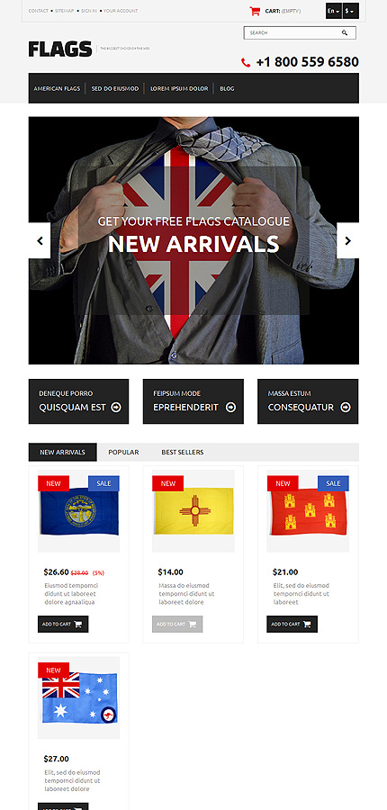 Politics Most Popular website inspirations at your coffee break? Browse for more PrestaShop #templates! // Regular price: $139 // Sources available: .PSD, .PHP, .TPL #Politics #Most Popular #PrestaShop