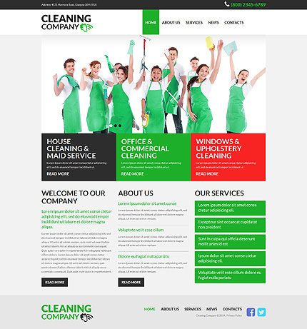 cleaning responsive joomla template 45335 cleaning company responsive joomla template