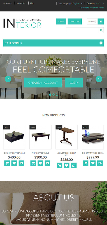 Most Popular Antique Templates website inspirations at your coffee break? Browse for more Magento #templates! // Regular price: $179 // Sources available: .PSD, .XML, .PHTML, .CSS #Most Popular #Antique Templates #Magento