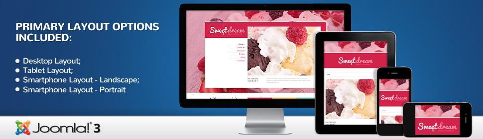 Sweet Dream - Template Joomla
