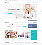 Responsive JavaScript Animated Template #52748
