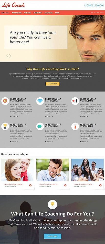 Society &amp; Culture website inspirations at your coffee break? Browse for more Moto CMS HTML #templates! // Regular price: $139 // Sources available:<b>Sources Not Included</b> #Society &amp; Culture #Moto CMS HTML