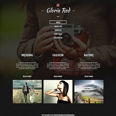 Photo Gallery Template # 52795