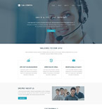 Responsive JavaScript Animated Template #52816