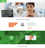 Responsive JavaScript Animated Template #52839