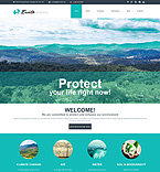 Ecology Organization Joomla Template