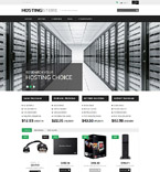 Web Hosting PrestaShop Template