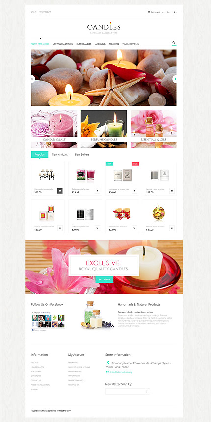 Gifts Most Popular website inspirations at your coffee break? Browse for more PrestaShop #templates! // Regular price: $139 // Sources available: .PSD, .PHP, .TPL #Gifts #Most Popular #PrestaShop