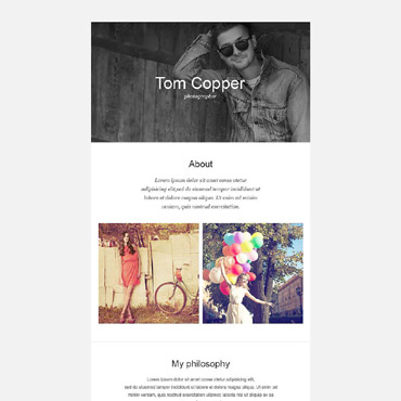 Newsletter Template # 52967