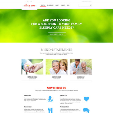 WordPress Theme # 52970