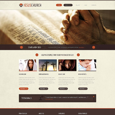 Website Template # 52974