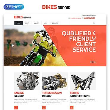 Website Template # 52978