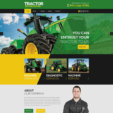 Website Template # 53043