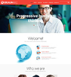 Responsive JavaScript Animated Template #53045