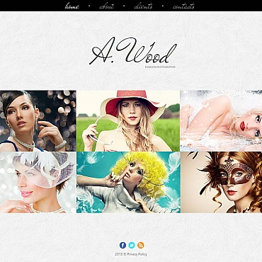 Photo Gallery Template # 53066