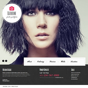 Photo Gallery Template # 53072