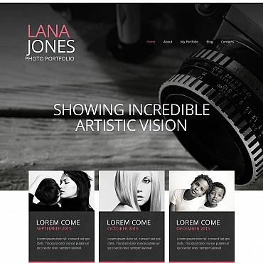 Photo Gallery Template # 53077