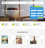 Responsive JavaScript Animated Template #53104
