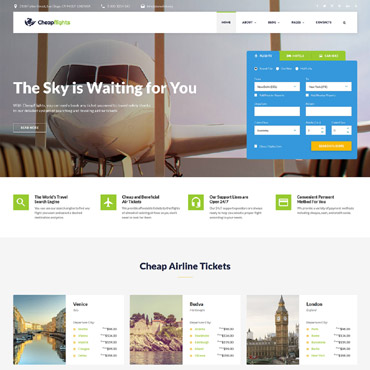 Website Template # 53104
