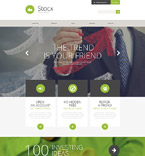 Responsive JavaScript Animated Template #53116