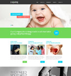 Responsive JavaScript Animated Template #53117