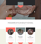Responsive JavaScript Animated Template #53157
