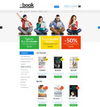 Books Magento Template