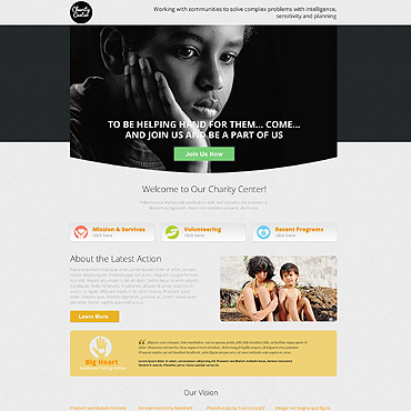 Landing Page Template # 53181