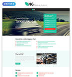 Alternative Energy Landing Page Template
