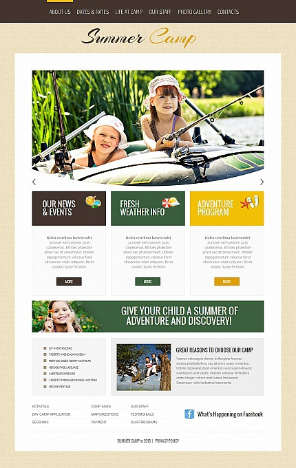 Family website inspirations at your coffee break? Browse for more Moto CMS HTML #templates! // Regular price: $139 // Sources available:<b>Sources Not Included</b> #Family #Moto CMS HTML