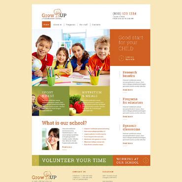 Website Template # 53289